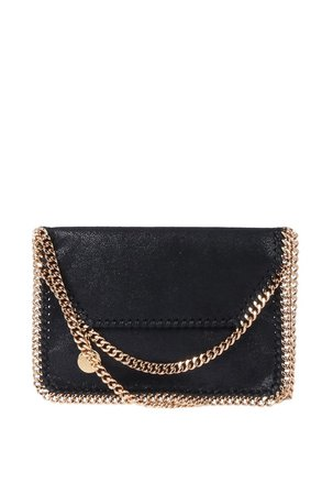 Replica Stella Mccartney Black Faux Leather Falabella Mini Cross Body Bag