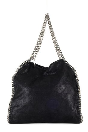 replica Stella McCartney Black Suede Vegan Tote